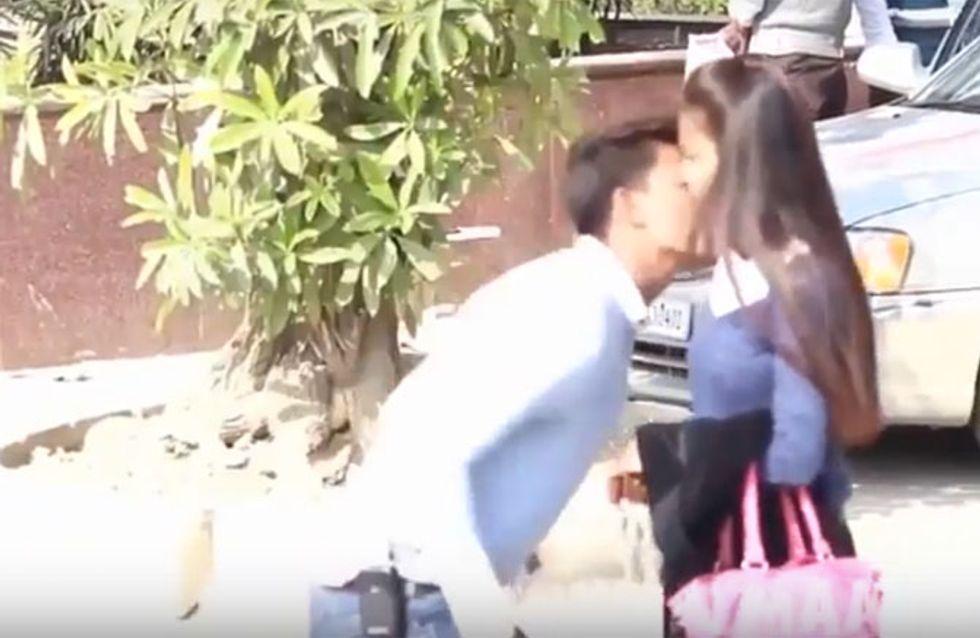 Il embrasse de force des filles dans la rue, la scandaleuse vidéo qui indigne l'Inde