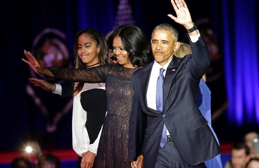 Le secret du dernier look de Michelle Obama en tant que First Lady (Photos)