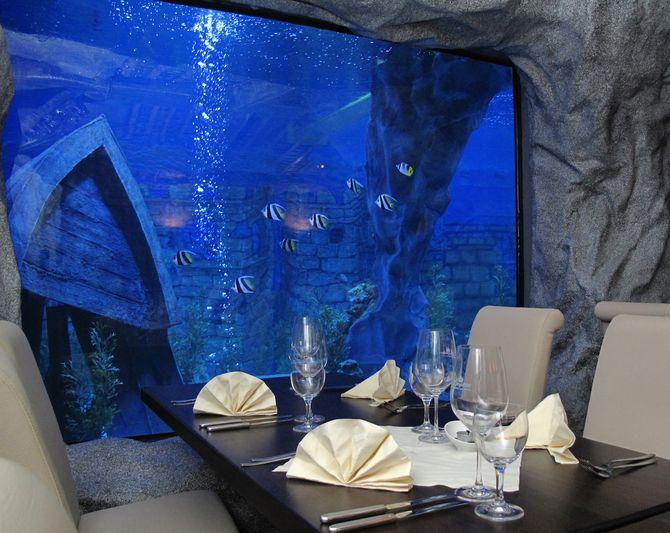 Außergewöhnliche Restaurants: Unterwasser-Restaurant