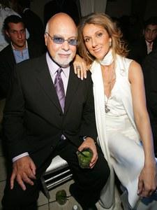 René Angélil et Céline Dion