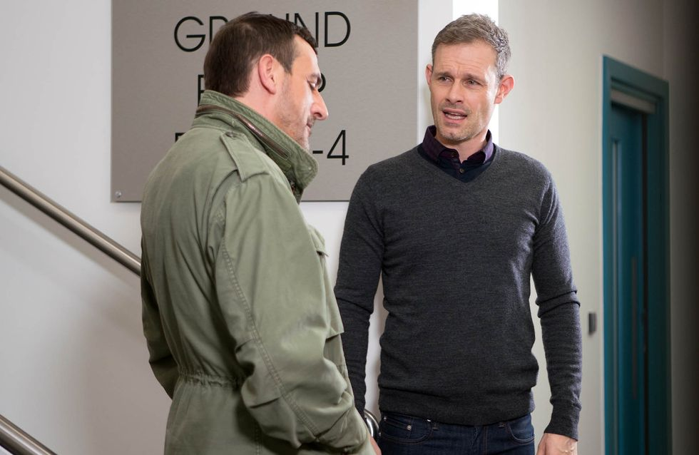 Coronation Street 27/01 - Peter Pushes Nick's Buttons