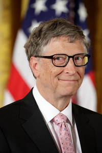 Platz 1: Microsoft-Mitgründer Bill Gates, 75 Milliarden US-Dollar