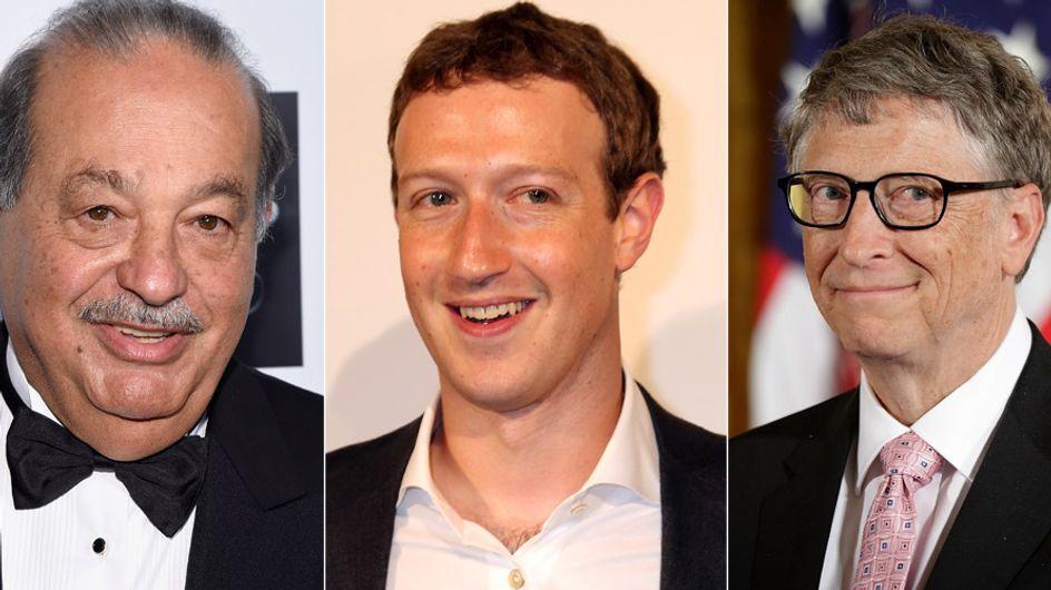 Unfassbar: DIESE 8 Männer haben mehr Geld als die Hälfte der Weltbevölkerung
