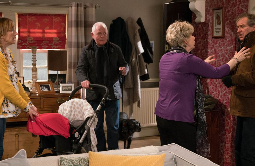 Emmerdale 23/01 - Young Gabby Is Left Caring For Dotty And Ashley