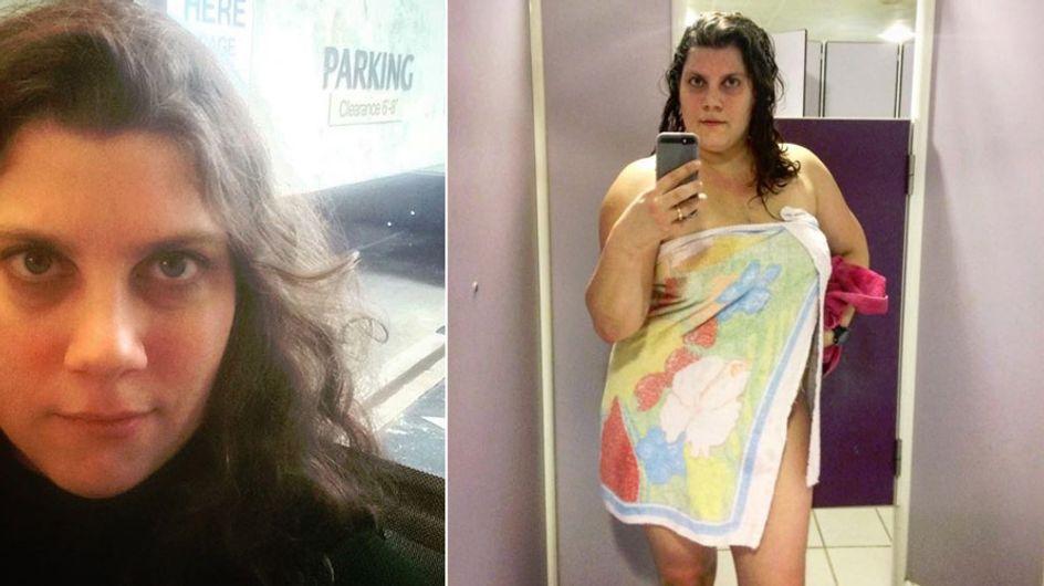 Warum das Foto dieser halbnackten Frau das Netz begeistert - und uns auch!