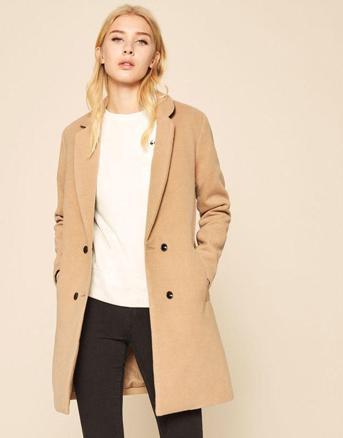 Le manteau boyish, 21 euros chez Lefties