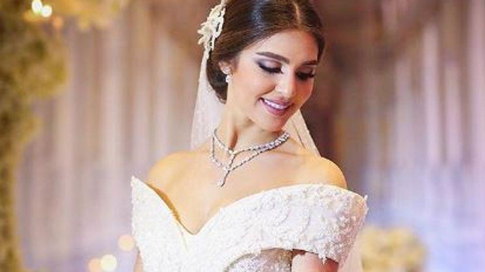 L'avantage quand on épouse un joaillier, c'est qu'on est sûre de briller le jour de son mariage (Photos)