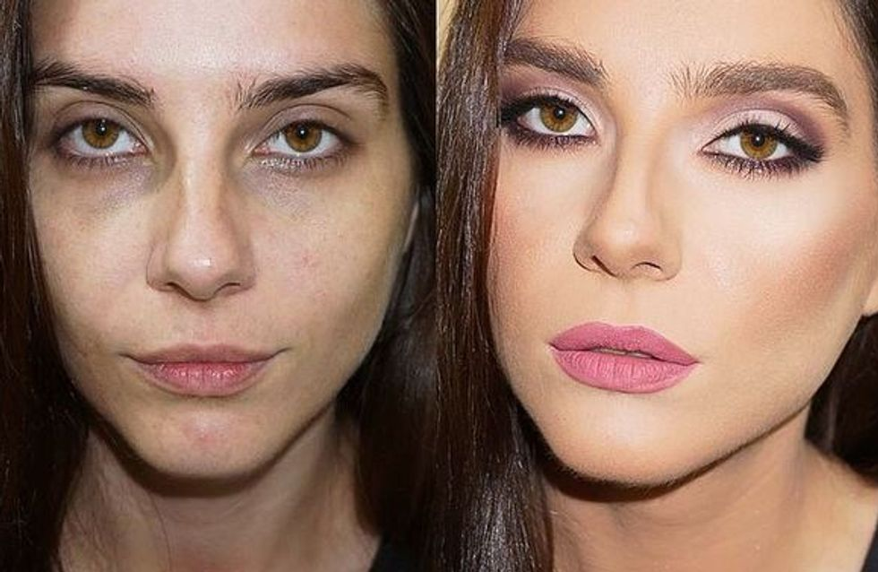 Queens Of Contouring! 20 Before-And-After Pics That Show A Little Sculpting Goes A Long Way