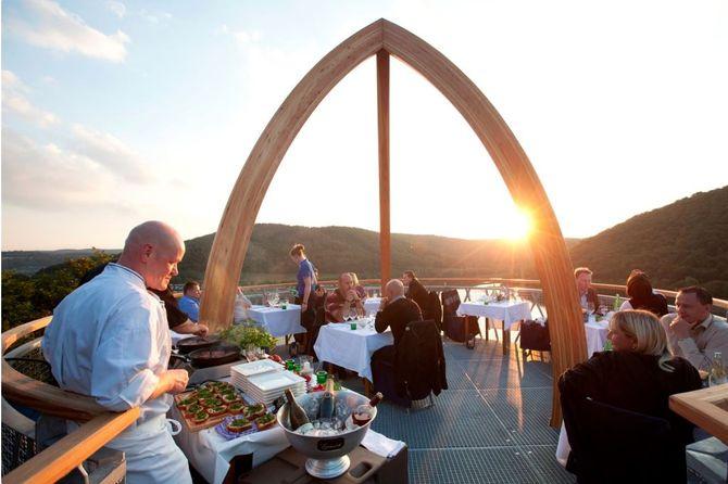 Außergewöhnliche Restaurants: Dinner in den Bäumen