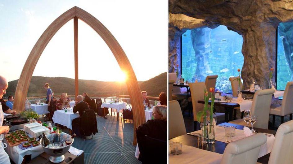 Hier müsst ihr hin! Die 5 außergewöhnlichsten Restaurants in Deutschland