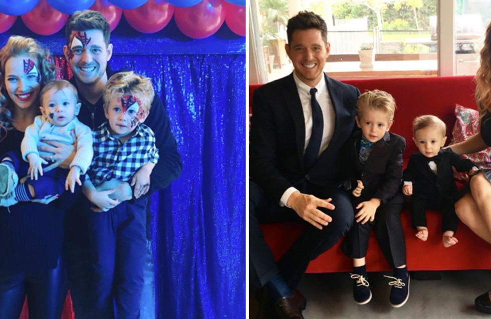 Michael Bublé non presenterà i Brit Awards per stare vicino al figlio malato di cancro