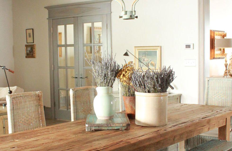 Estilo 'shabby chic', apuesta por la fusión más acogedora para la decoración de tu hogar