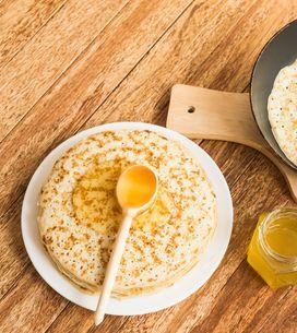 Crêpes sans œuf, sans lait ou sans gluten : nos recettes  pour allergiques et in