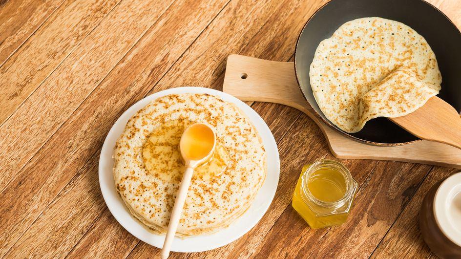 Crêpes sans œuf, sans lait ou sans gluten : nos recettes  pour allergiques et intolérants