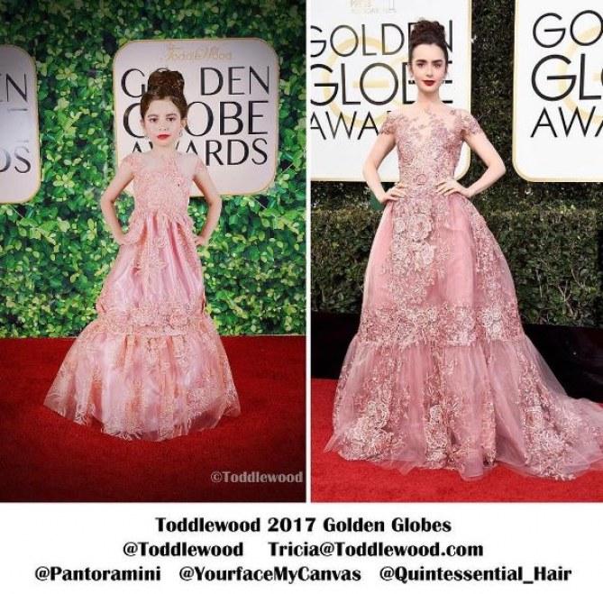 La mini-Lily Collins de Toddlewood