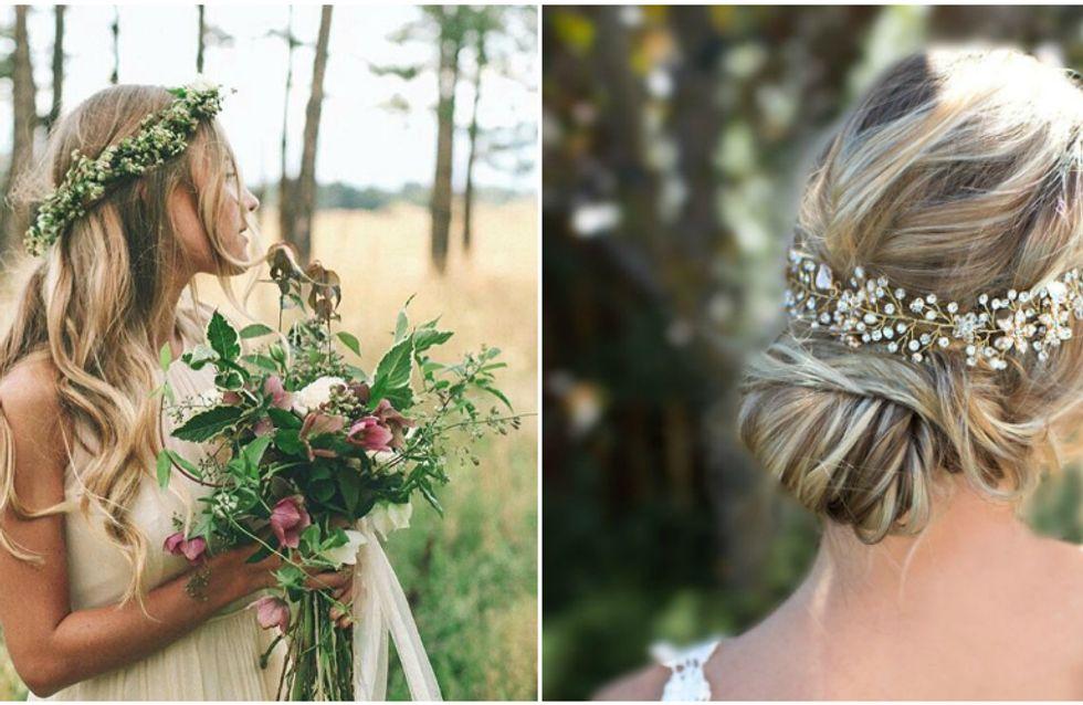 Penteados de noiva perfeitos para casamentos ao ar livre