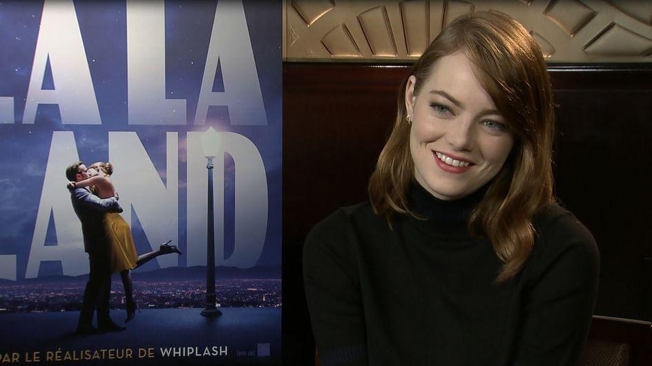 "Ryan Gosling, sa préparation pour ""La La Land""… Emma Stone nous dit tout ! (Itw vidéo)"