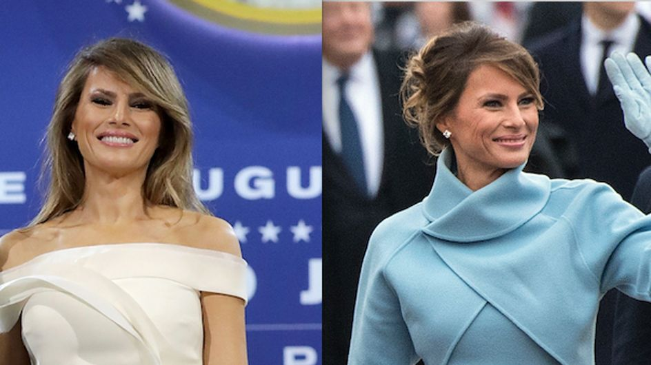 Melania Trump : La nouvelle First Lady a fait sensation pour l'investiture de son mari (Photos)