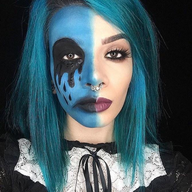 La blogueuse beauté Yasman Gheidi sensibilise aux maladies mentales grâce au maquillage