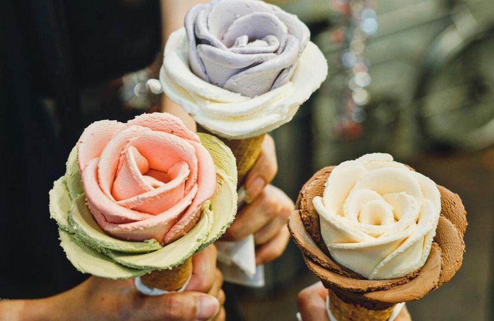 Gelato flower, la tendencia helada que triunfa en Instagram