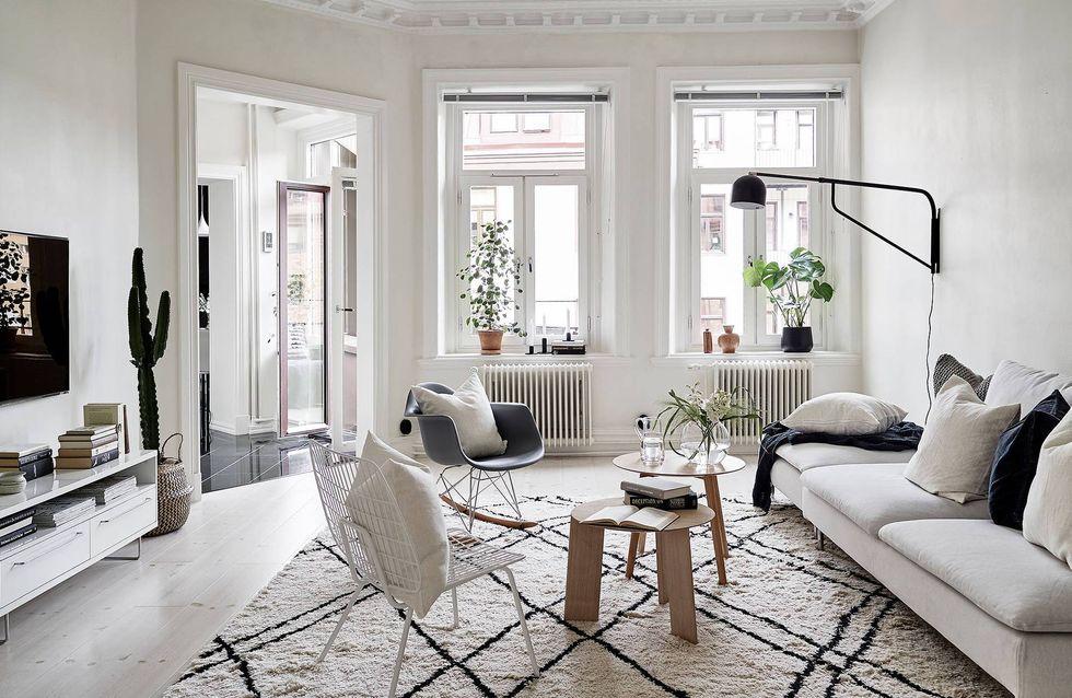 6 ideas para introducir las alfombras de pelo en casa