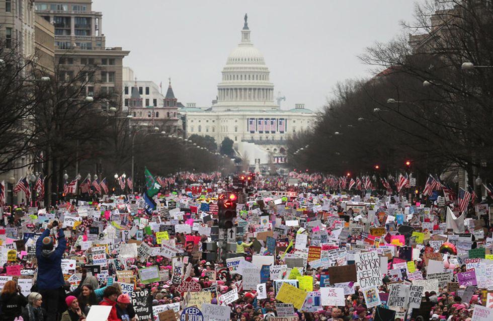 Mujeres contra Trump: la marcha feminista que ha hecho historia en Estados Unidos