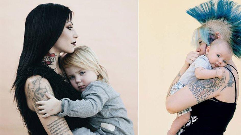 So sehen Mütter aus! Diese Fotografin zeigt moderne Mamas, um Vorurteile aus dem Weg zu räumen