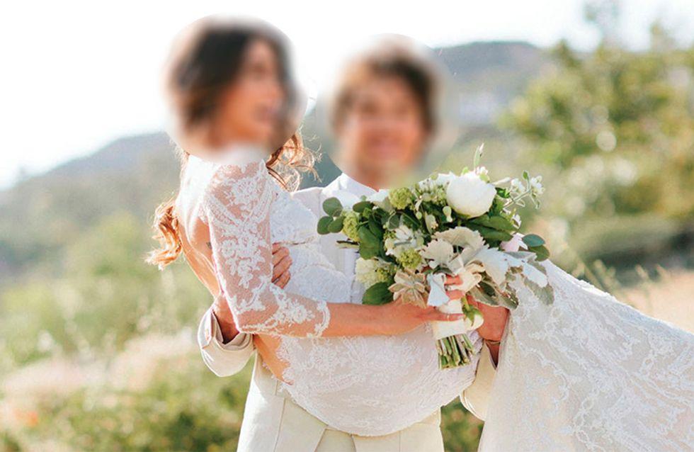 Que famosa usou cada um dos vestidos de noiva dessa lista?