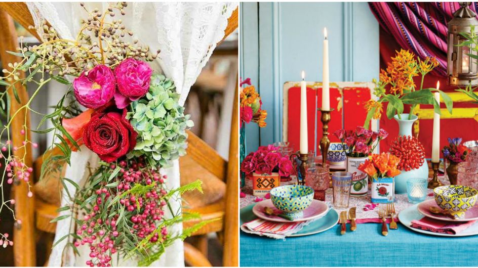 Alerta de tendência: festa de casamento multicolorida