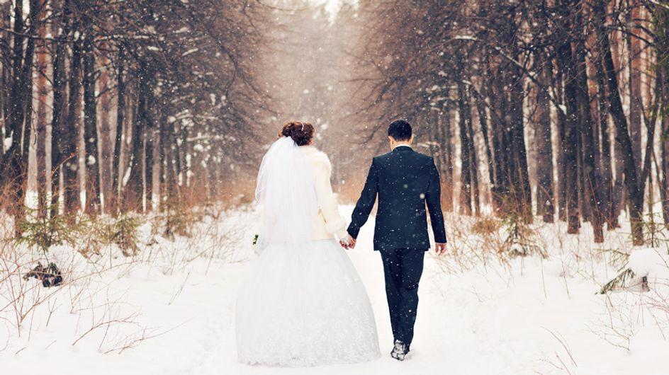 5 lugares para celebrar una boda en invierno