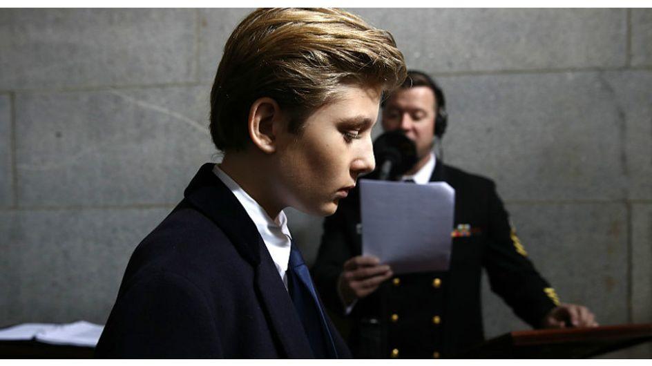 Il diritto di essere bambino, anche se abiti alla Casa Bianca e ti chiami Barron Trump