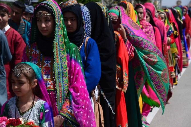 Des jeunes filles afghanes