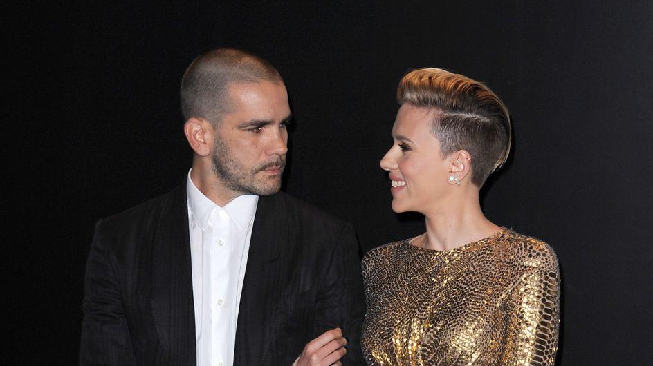Scarlett Johansson y Romain Dauriac posan juntos tras conocerse su divorcio