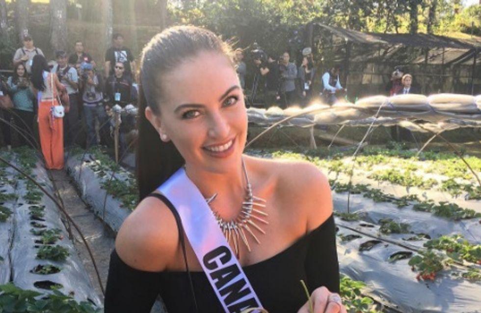 Jugée trop grosse pour Miss Univers, Miss Canada a une réplique géniale (Photos)