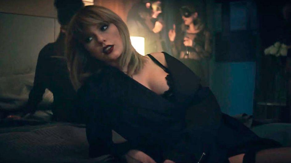 Assista ao clipe de Taylor Swift e Zayn Malik para 'Cinquenta Tons Mais Escuros'