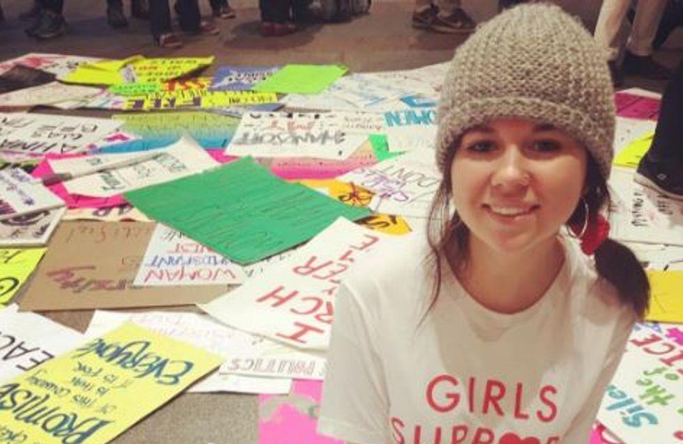 L'œuvre d'art de cette étudiante montrant les conséquences d'une agression sexuelle a ému le monde entier (Photos)