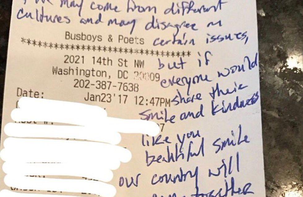 Cette serveuse a reçu un pourboire de 450 dollars pour la meilleure des raisons