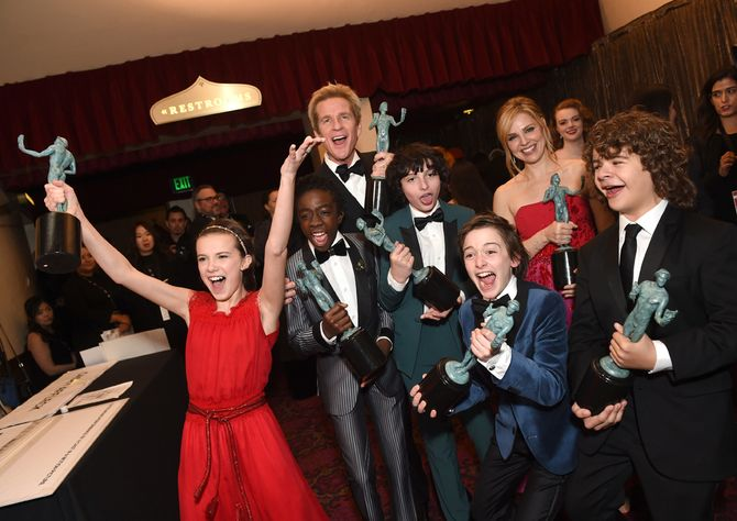 Stranger Things, Mejor elenco en una serie de drama