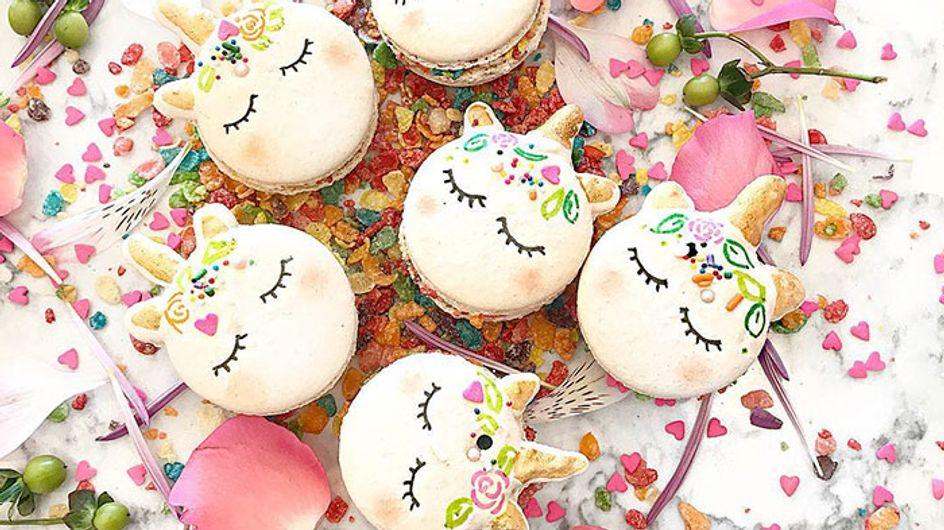 Macarons de unicornio o cómo la sobredosis de purpurina invadió Instagram