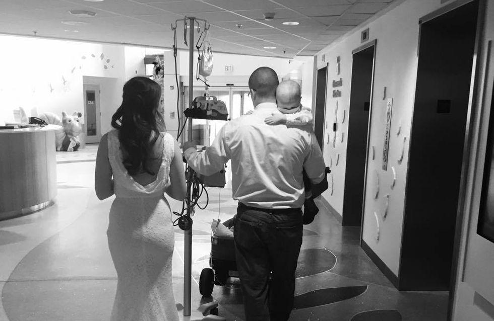 Die emotionale Geschichte hinter diesem Hochzeitsbild bewegt momentan die ganze Welt