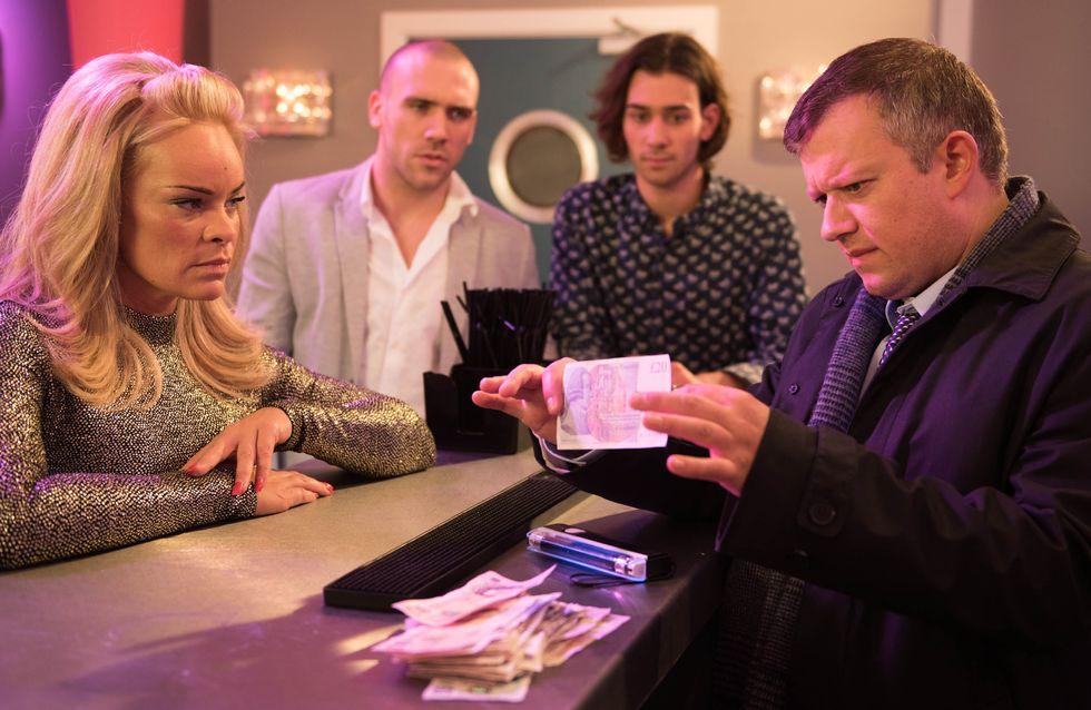 Hollyoaks 06/02 - Liam Is Ready To Pounce On Grace