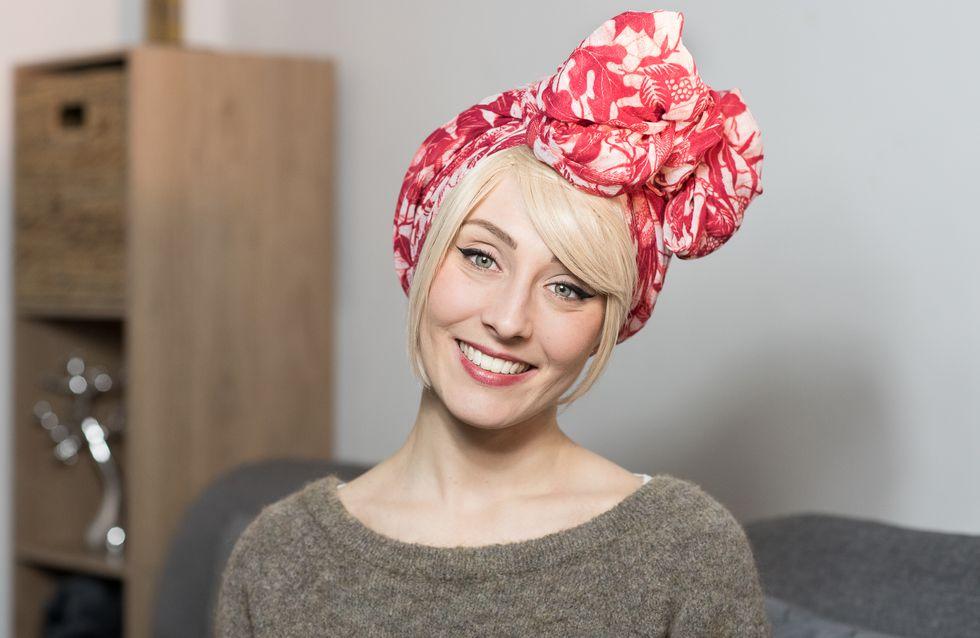 Julie, une guerrière contre le cancer du sein crée une alternative géniale aux perruques (Photos)