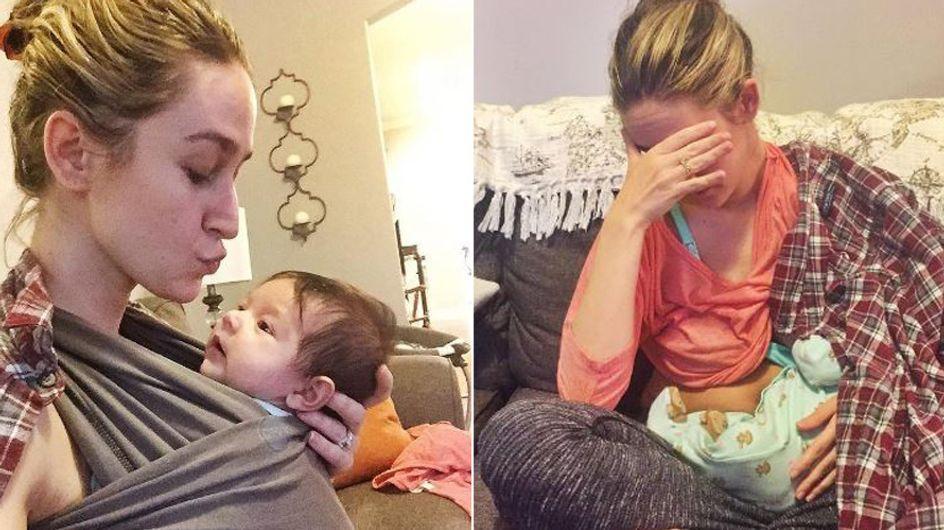 Stillen ist nicht immer einfach: Diese Mutter spricht offen und ehrlich über ihren Kampf