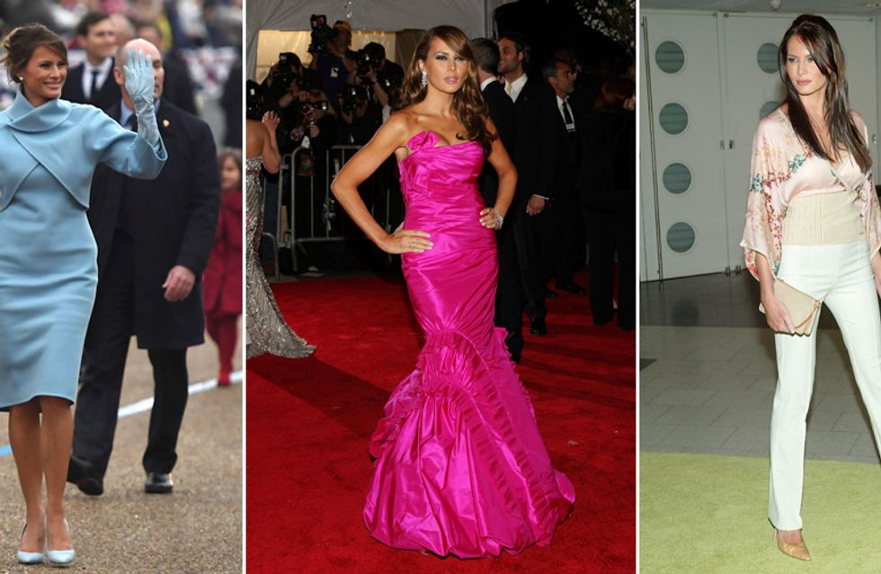 Melania Trump's Beauty And Style Evolution: From FROW To FLOTUS