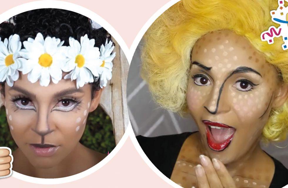 pop art schminken anleitung