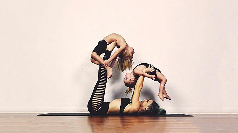 Yoga en familia: El genial método de una madre para iniciar a sus hijos