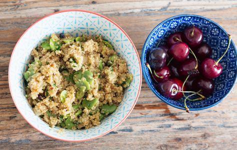 Recette de fèves : plat avec des fèves