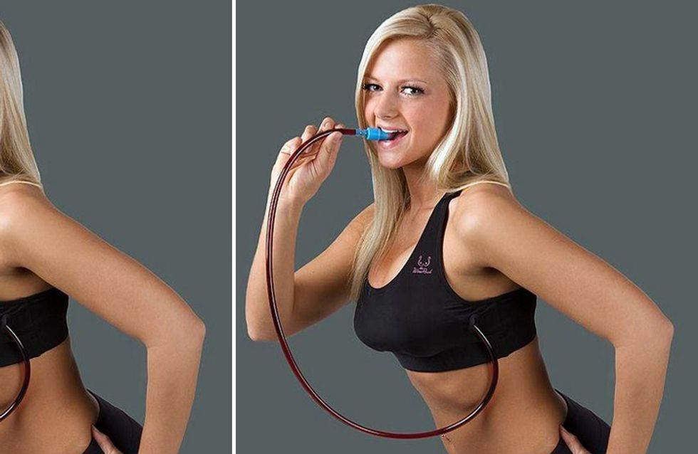 This Wine Flask Bra Will Give Your Bust A Boozy Boost