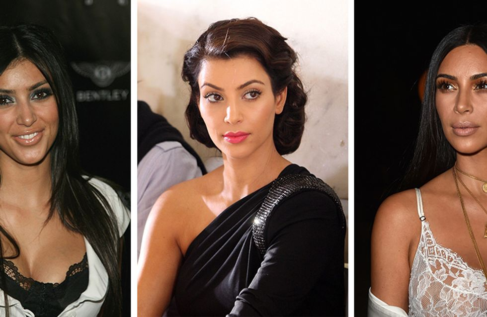 What A Difference A Decade Makes: Kim Kardashian's Beauty Metamorphosis