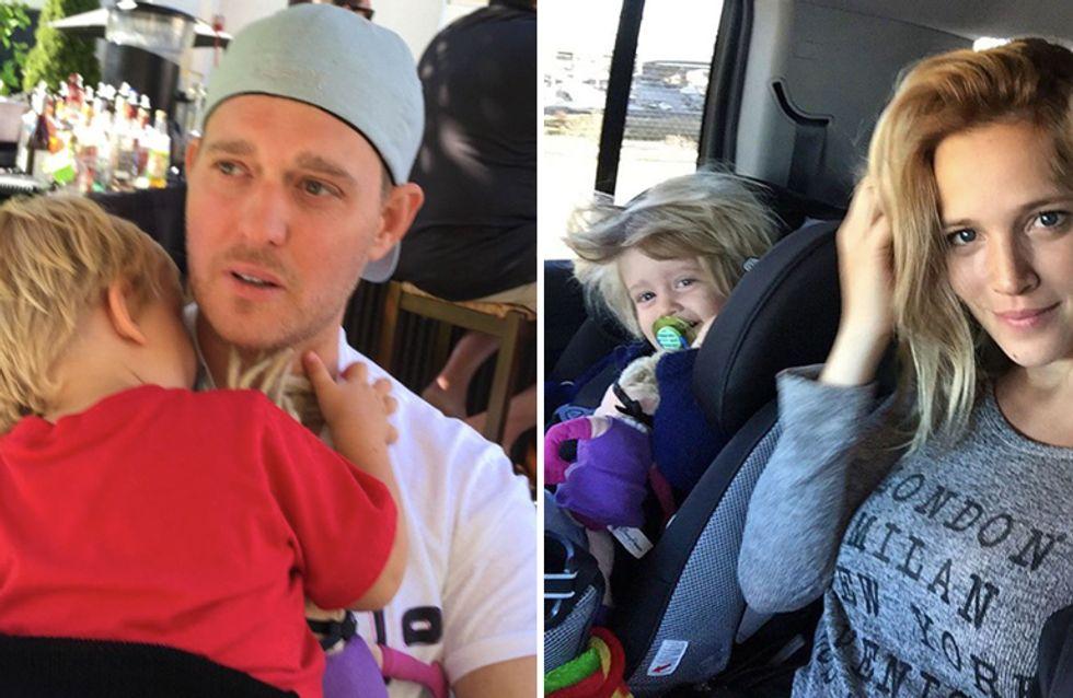 Buone notizie per Michael Bublè: il figlio Noah starebbe guarendo dal cancro